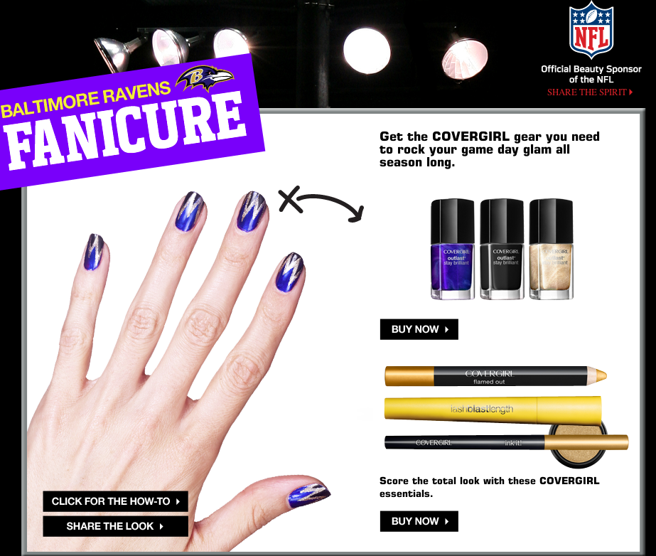 CoverGirl and NFL Partner Up For Football Season | TrendingFEMME.com